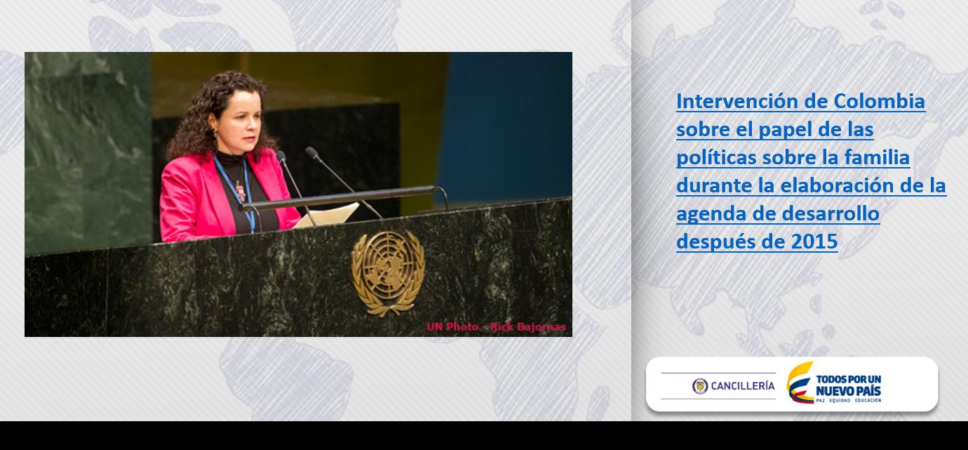 Naciones Unidas, Colombia