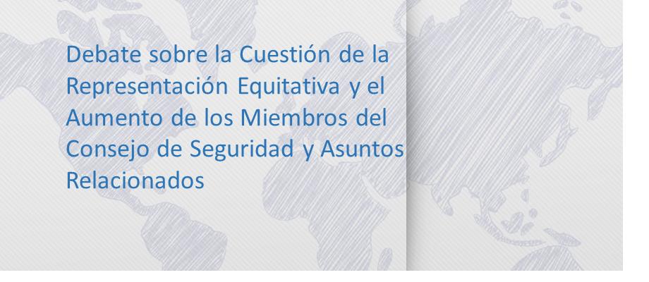 Naciones Unidas, Maria Emma Mejia